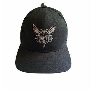 Urban Outfitters Charlotte Hornets Wool Black Hat